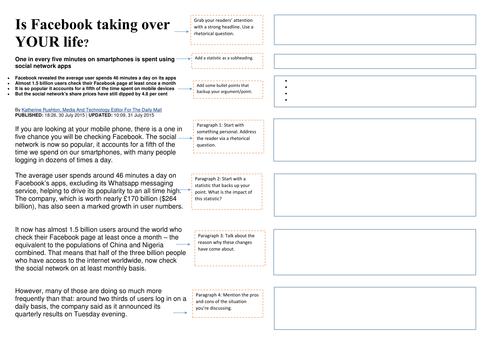 Article Writing Layout
