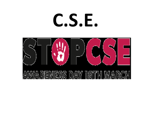 C.S.E    Educating young people on child sex exploitation