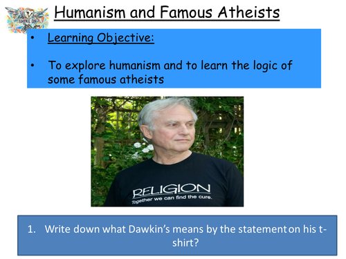 Humanism and Famous Atheists