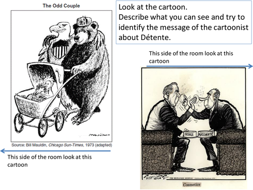 *Full Lesson* Superpower relations/Cold War: Detente