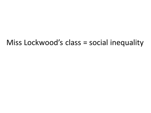 AQA Sociology OLD SPEC Unit 2 Social inequality
