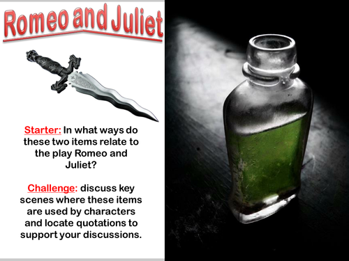 Romeo and Juliet: Eduqas/WJEC - Extract Preparation: Act 4 Sc 1 - Juliet and Friar Lawrence