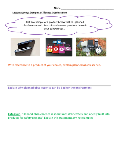 Year 7 And 8 Moral Social And Cultural Issues In Design Technology Teaching Resources