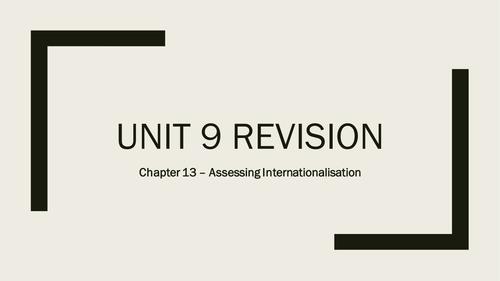 AQA A-Level Business - Unit 9 Strategic Methods Revision Quizzes