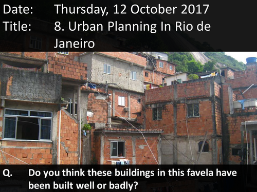 8. Urban Planning In Rio De Janeiro