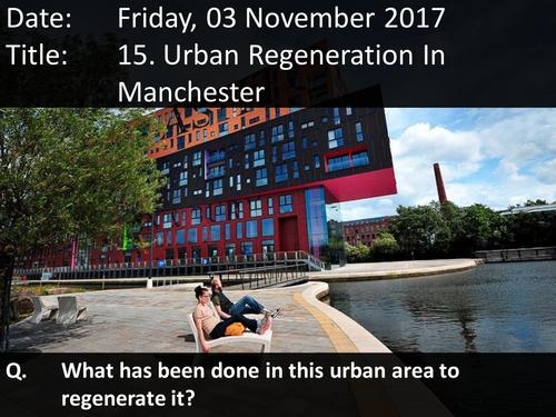 15. Urban Regeneration In Manchester