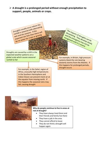 Climatic Hazards Revision Guide - Part 2 Drought