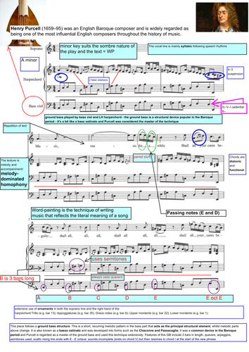 Music For A While - annotated PDF Edexcel GCSE Music (new)