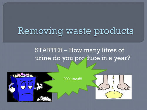 AQA New GCSE topic 5 - removing waste products