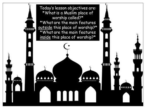 What are the key features of a mosque? Info stations task.
