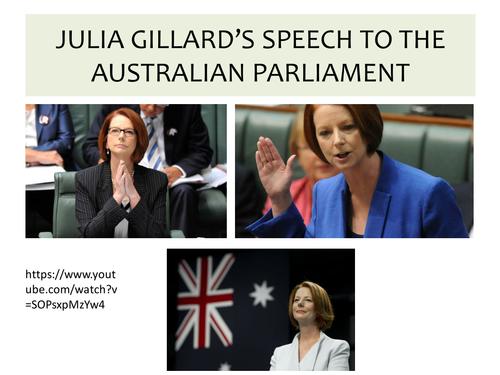 OCR EMC Anthology Julia Gillard Speech Australian Parliment