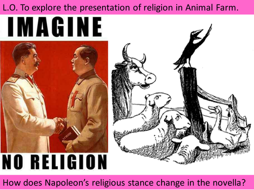 religion in animal farm real or