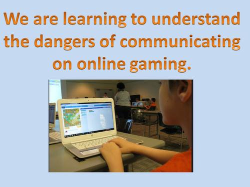 KS2 Online Safety - Online Gaming Communication