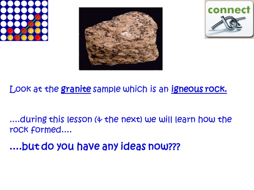 Activate 2 Chemistry Chapter 4 The Earth lesson 3 Igneous rock – Igneous Rock Worksheet