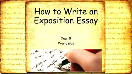 how to write an exposition essay ks or ks new wjec gcse how to write an exposition essay ks3 or ks4 new wjec gcse english language by benkdavies teaching resources tes