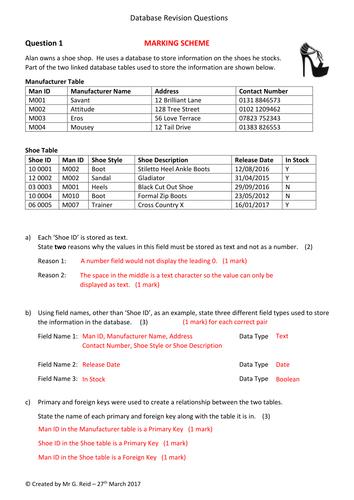 Database Revision/Homework Question 1