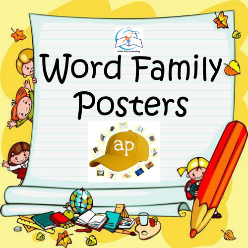 Word Family Posters - 102 Word Family Posters