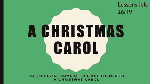A Christmas Carol themes revision