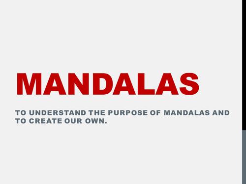 KS3 Buddhism - Beliefs & Mandalas
