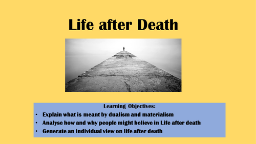 Life after death introduction