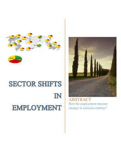 Sector shifts in employment