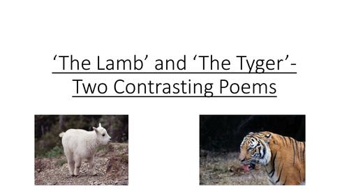 Blake's Lamb and Tyger
