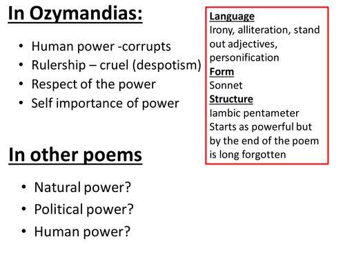 ozymandias irony essay