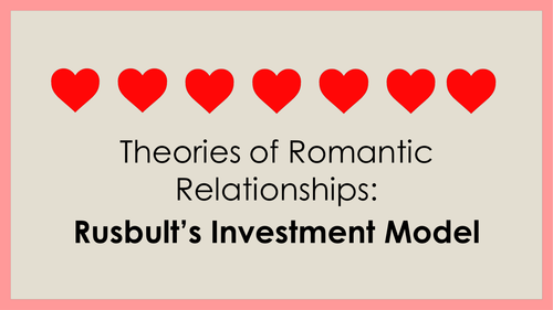 Theories of Romantic Relationships - Rusbult's Investment Model