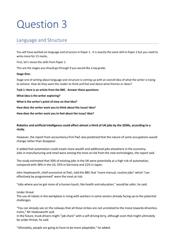 Edexcel chinese a level essay plan