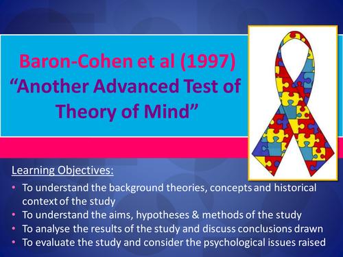 Baron-Cohen et al.