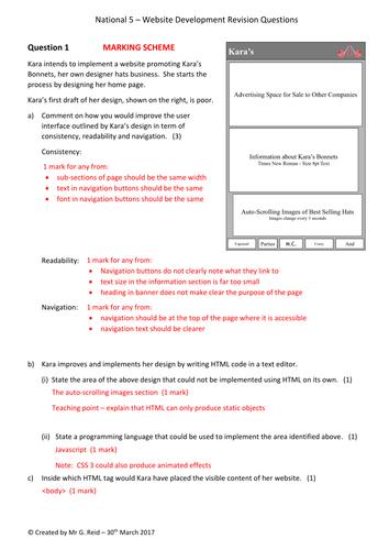 Web Development Homework/Assessment Question 1