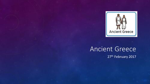 Ancient Greeks Intro / Gods and Goddesses SEN