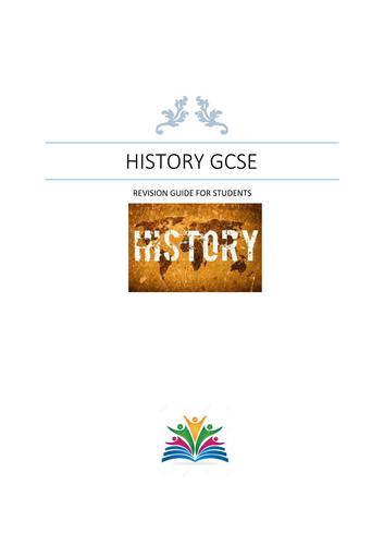 GCSE Revision History