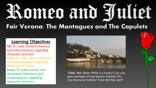 Romeo & Juliet: Character and Plot Grid Worksheet. by RMNewbury ...