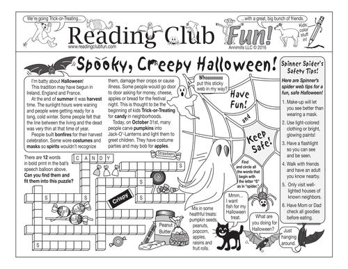 Bundle: Spooky, Creepy Halloween
