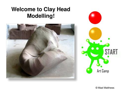 Art. Clay Workshop Slideshow