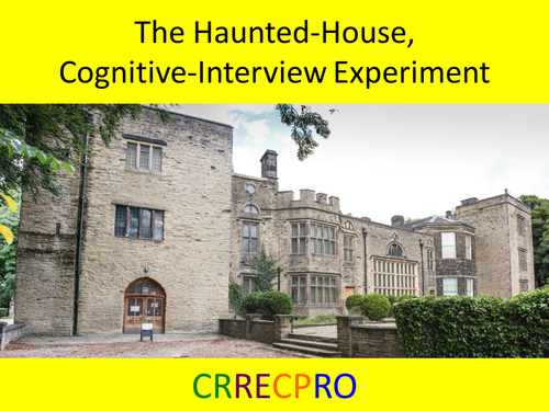 The Cognitive Interview Experiment - Revision Activity with free YouTube video (see description)