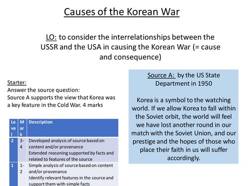 analysis of korean war