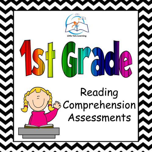 1st Grade Reading Comprehension Assessments {Common Core Aligned}