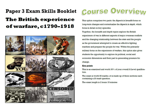 British Experience of Warfare 1790-1918 Revision Guide