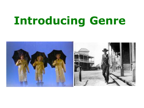 Film Genre - an Introduction