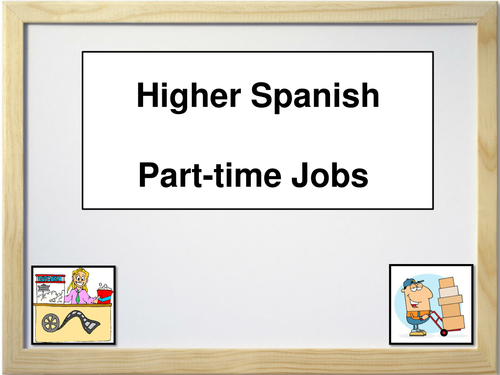 Spanish - Part Time Jobs & Employability
