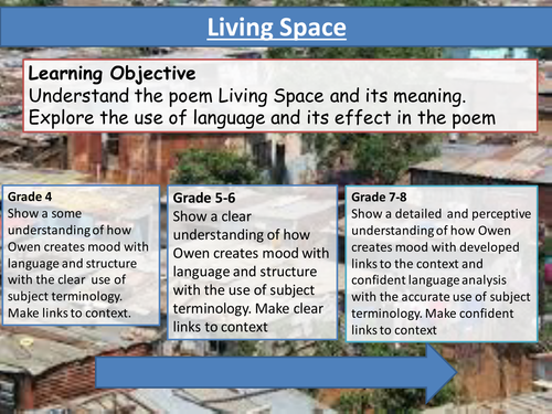 Living Space by Imtiaz Dharker- Poem Analysis - Eduqas Poetry Anthology