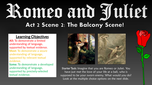 romeo and juliet balcony scene act 2 scene 2 essay
