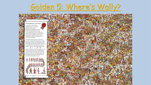 Prepositions of place lesson using Where's Wally