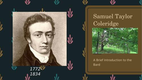 Samuel Taylor Coleridge - A Brief Introduction
