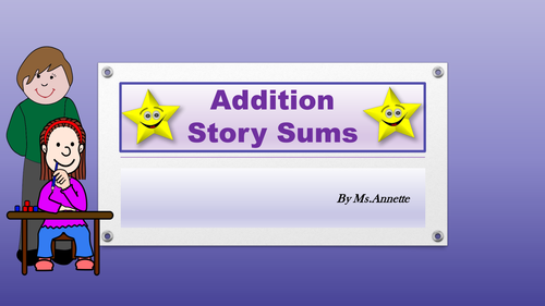 Addition Story Sums