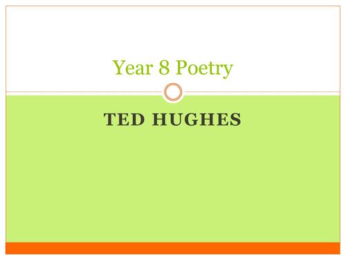 KS3 Poetry Ted Hughes Scheme of Work