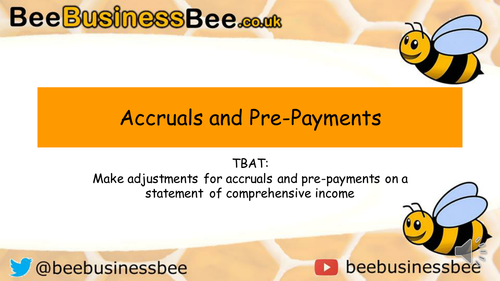 Accruals and Pre Payments Presentation