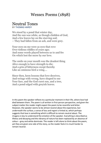 Poems Tones 1